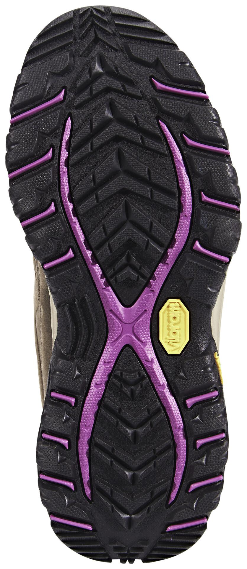 Columbia Terrebonne Outdry Chaussures Femme, pebbleintense violet